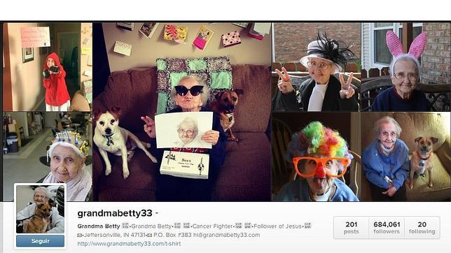 Muere Betty, la «abuela de Instagram»