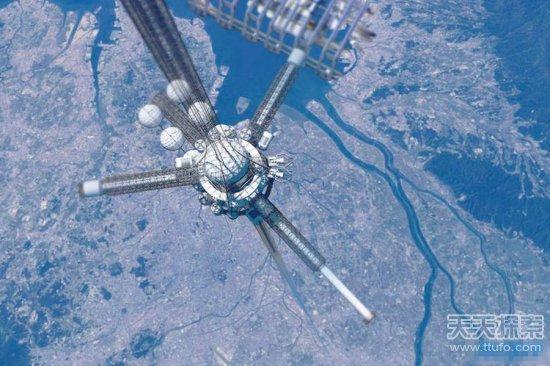 Empresa estadounidense intenta construir escalera al cielo