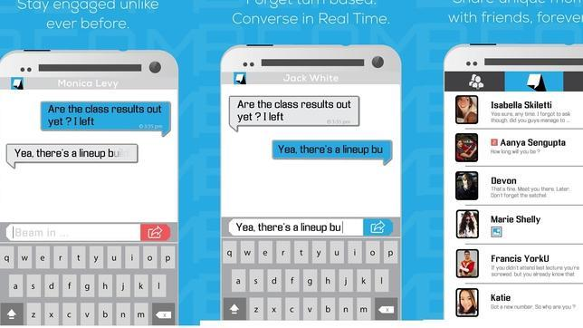 Beam Messenger: el WhatsApp de los impulsivos