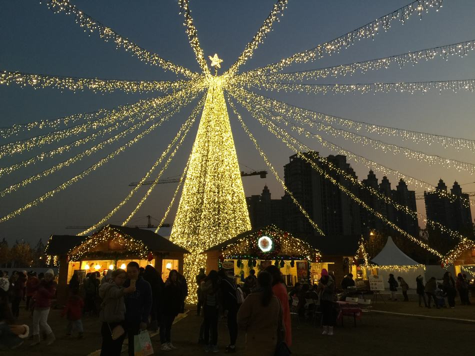 El mercado navide o m s grande de china - Navidades en alemania ...