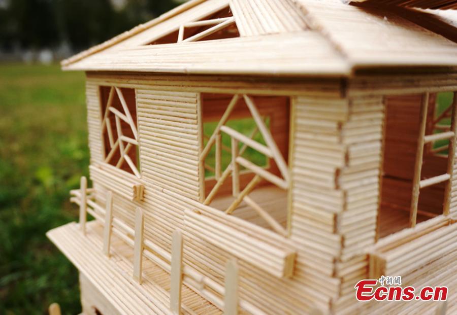 Pin Casa Con Palitos De Madera on Pinterest