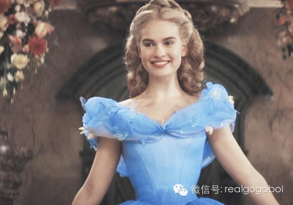 La cenicienta vestido azul