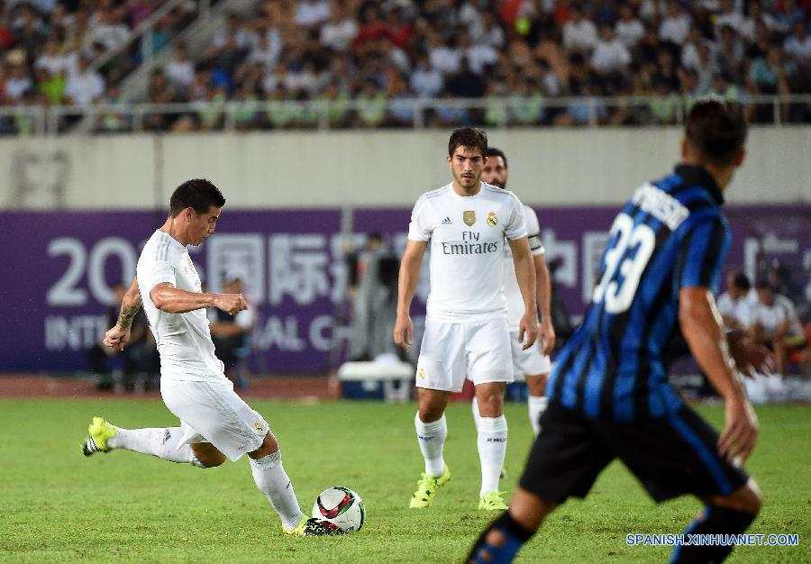 Real Madrid gana 3-0 al Inter de Milán en China