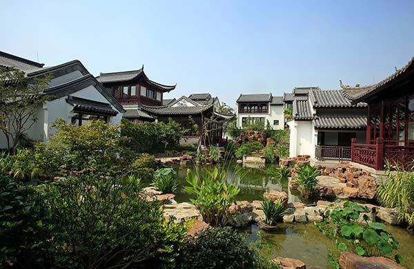 una villa de lujo con jardn clsico chino a la venta por millones de dlares