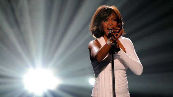Whitney Houston digital sale de gira mundial