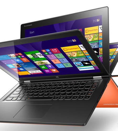 Lenovo lanza nuevo híbrido de laptop y tableta para revivir mercado de PC