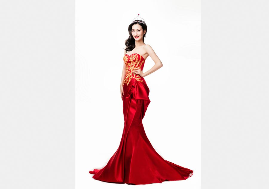 Miss Mundo China 2015 Yuan Lu. [Foto/www.missworldcn.com]