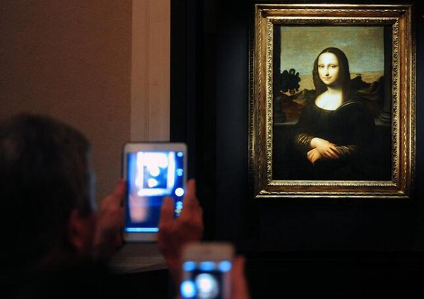 Descubren un retrato escondido bajo la Mona Lisa