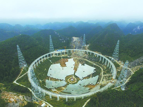 Cinco proyectos de ciencia e ingeniería contemporánea de China