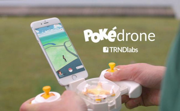 "Fabrican ""Pokedrone"",útil dispositivo para capturar pokemones"