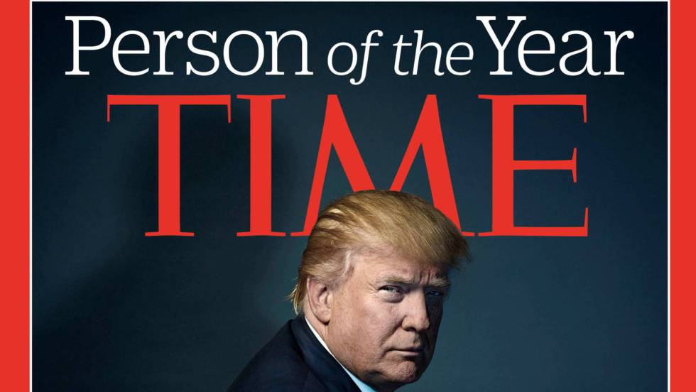 Donald Trump, persona del año para la revista «Time»