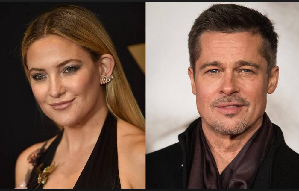 Kate Hudson, ¿la nueva novia de Brad Pitt?