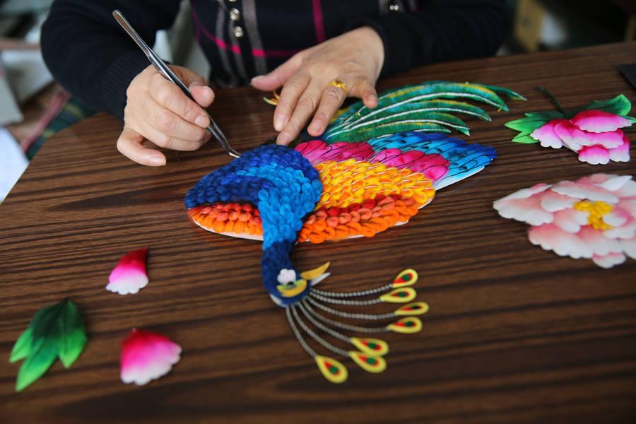 Coloridos Dibujos De Algodón Que Son Patrimonio Cultural