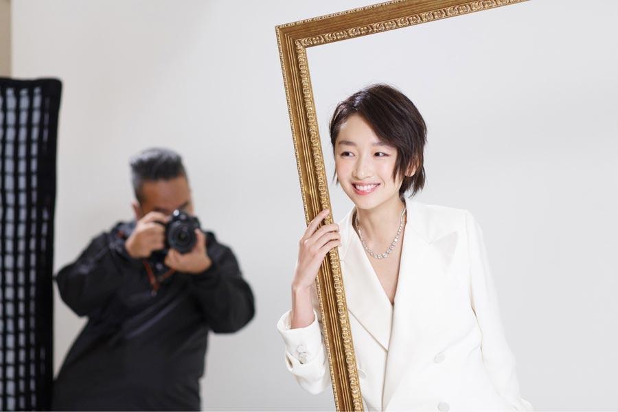 Aficionado a la antigua actriz de Hong Kong