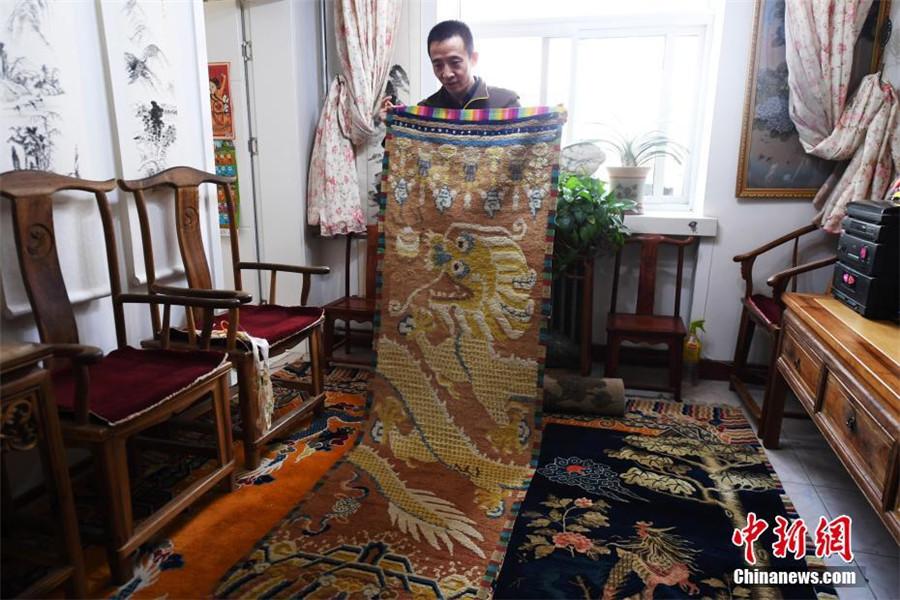 Colecciones de alfombras antiguas alcanzan cifra r cord en for Alfombras persas historia