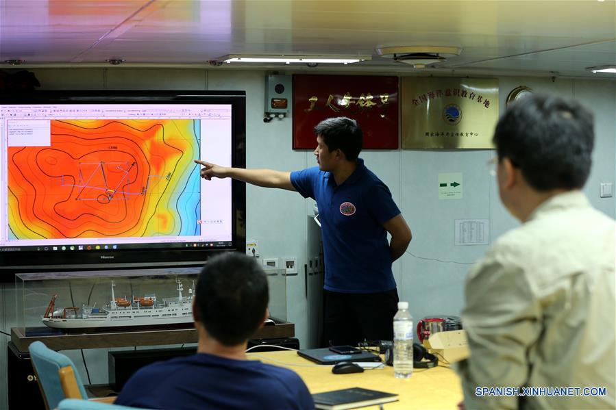 Sumergible chino Jiaolong concluye inmersiones en Mar Meridional de China