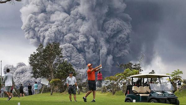 Alerta roja en Hawái por Kilauea: