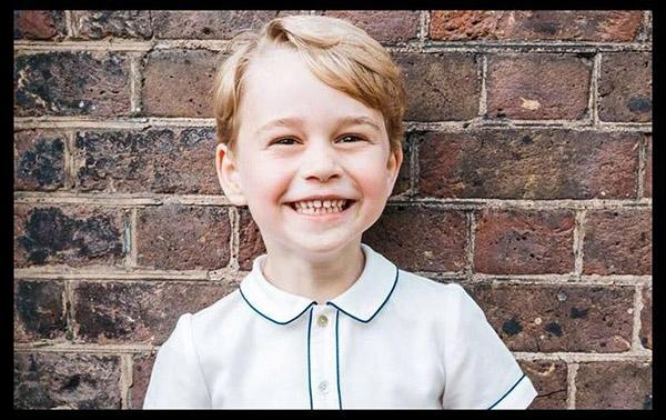 El príncipe Jorge cumple cinco años