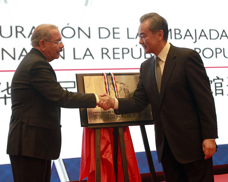 República Dominicana inaugura embajada en China