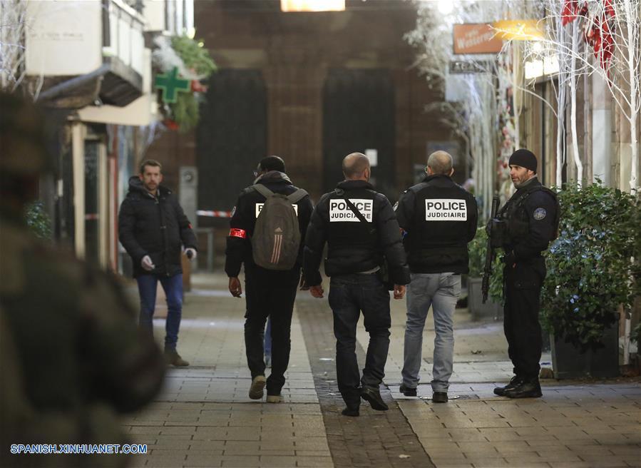 Francia investiga caso de terrorismo tras tiroteo en Estrasburgo