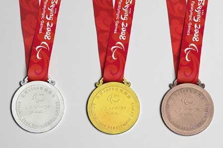 Dan a conocer medallas para los Juegos Paralímpicos Beijing 2008
