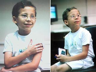 Niño genio egipcio igual a Rodrigo Noya