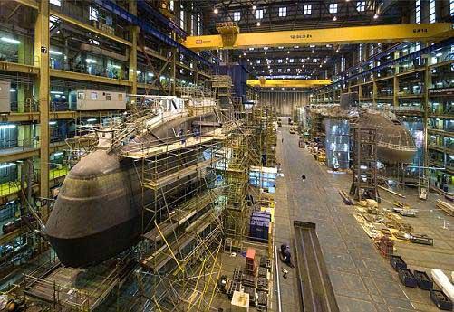 Contruyen submarino mas grande del mundo