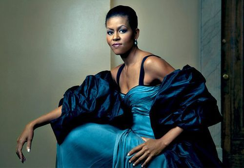 Michelle Obama aparece en la portada del Vogue