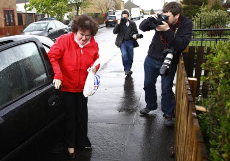 "Susan Boyle queda segunda en ""Britain´s Got Talent"""