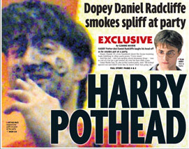 ¿Drogadicto 'Harry Potter'?