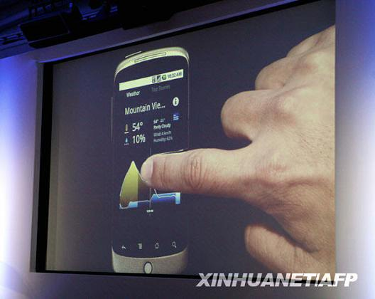 Google presenta celular inteligente Nexus One