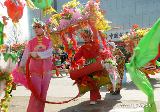 China celebra Festival de los Faroles