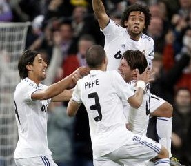 CHAMPIONS: Real Madrid 3 - 0 Olympique de Lyón