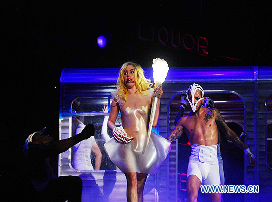 "Lady Gaga en Mexico, la gira ""The Monster Ball"""