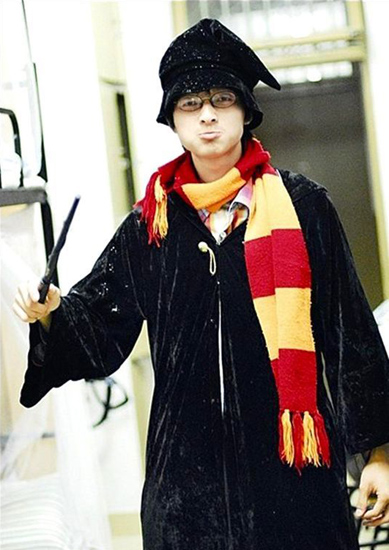 """Harry Potter"" se graduó de la Universidad de Beijing"