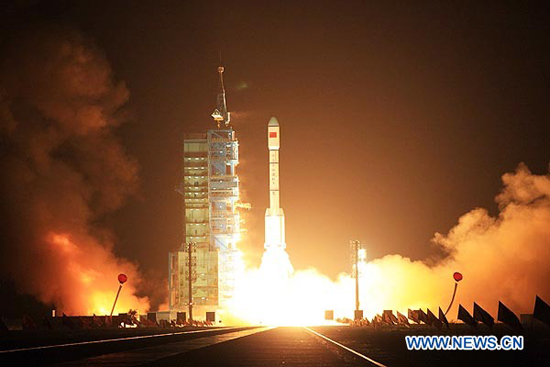 Despega primer módulo de laboratorio espacial de China