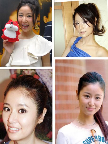 "Bellezas chinas con ""ponytail"""