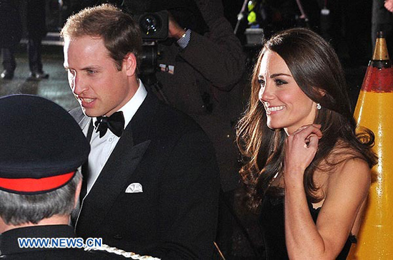 Londres: El príncipe William y su esposa Catherine llegan a los premios Sun Military Awards