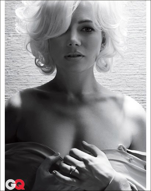 Michelle Williams interpreta a Marilyn Monroe