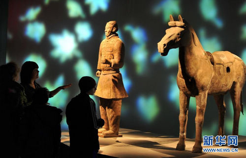 Exhiben en NY Guerreros de Terracota de China