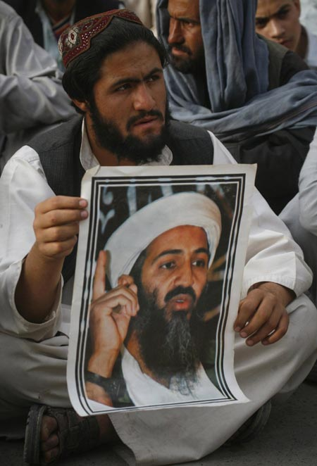 Protestas en Pakistán contra EE.UU. y en honor a Bin Laden