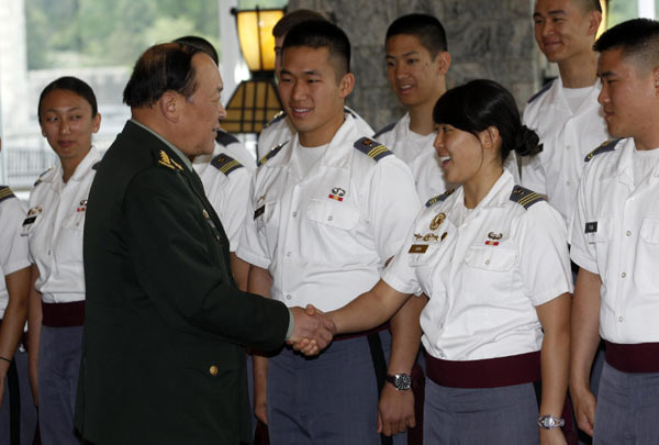 Ministro de Defensa de China visita West Point para impulsar lazos militares