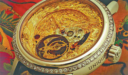 Reloj de lujo fabricado en China