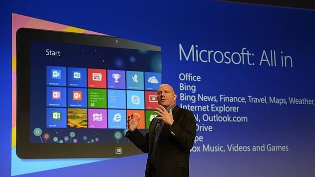 Windows 8, la mayor apuesta en la historia de Micrisoft