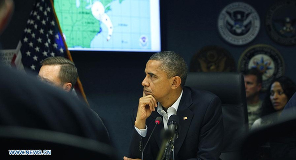Obama declara estado de emergencia en Maryland ante huracán Sandy