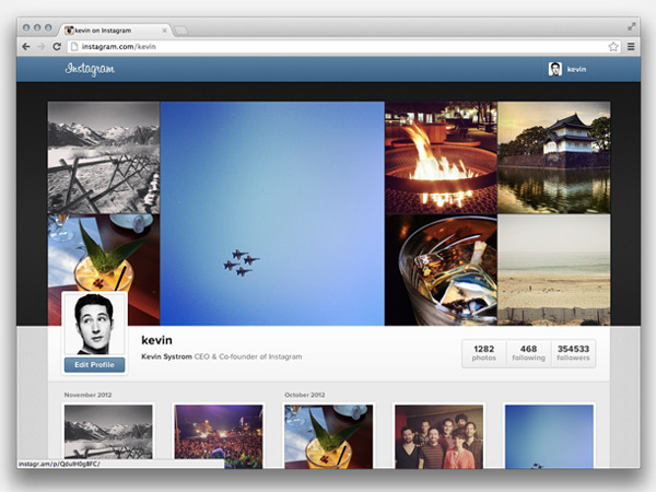 Facebook lleva Instagram a Internet