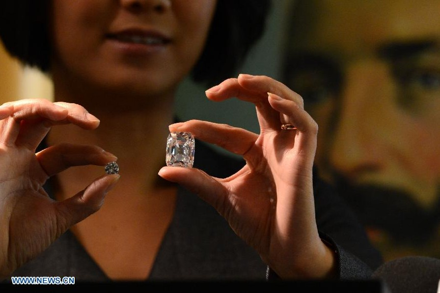Diamante Archiduque Joseph de 76.02 kilates sale a subasta en Suiza