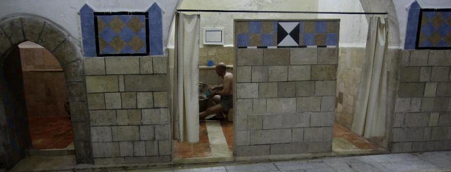 Baño Turco Para Ninos:baño turco en la ciudad cisjordana de Nablus, el 11 de diciembre de