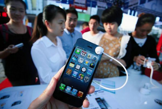 Se disparan las ventas del iPhone 5 de China Unicom en China Continental