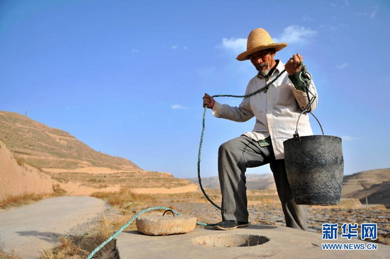 Sequía amenaza agua potable en Gansu